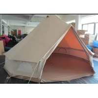 3m family camping canvas bell tent